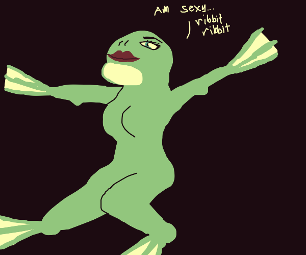 World's sexiest frog