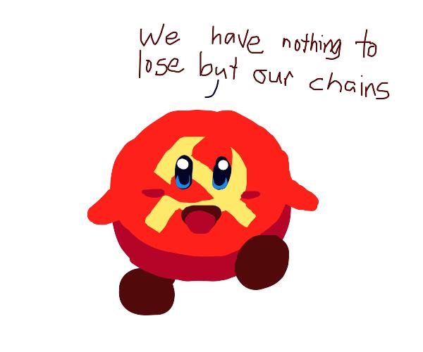 COMMUNIST RED KIRBY