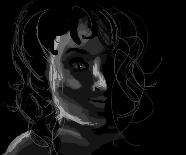 (Grayscale?) Woman