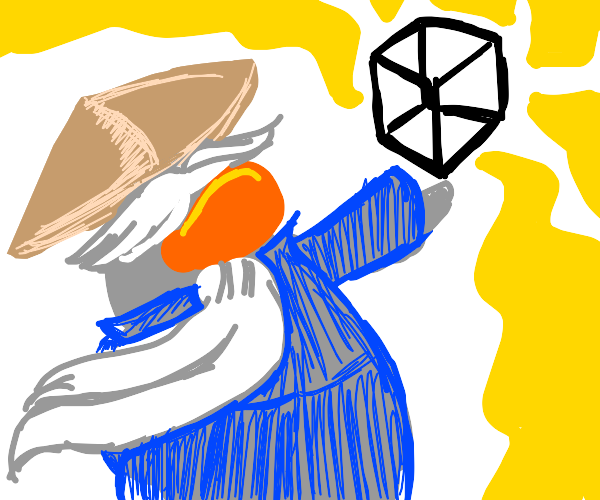sensei has acquired cube