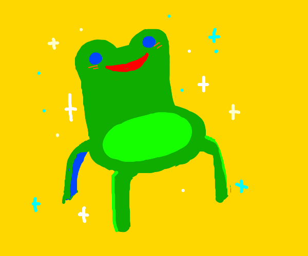 froggy chair (animal crossing)