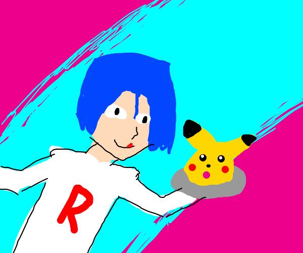Team rocket ate pikachu