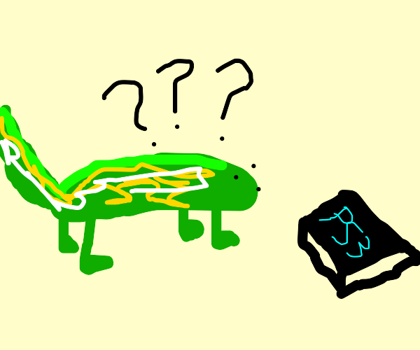 Iguana is confused about a PS3