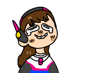 d.va spazzing out