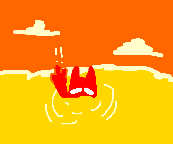 devil drowning