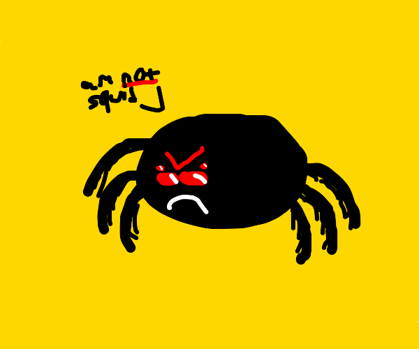 Thicc spider is not a squid