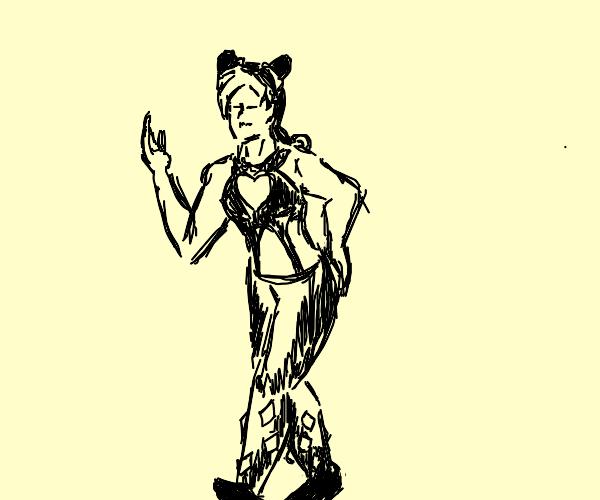 jolyne kujo walking