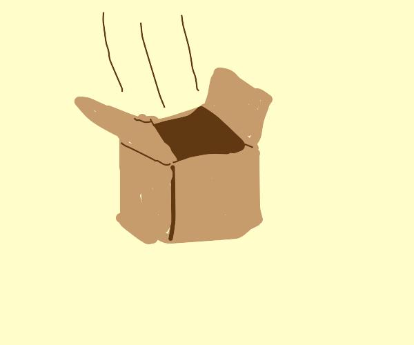 A falling box
