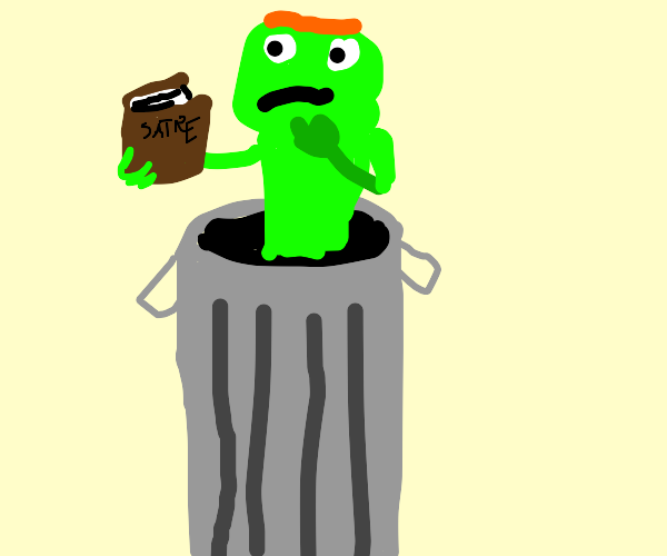 oscar the grouch the intellectual