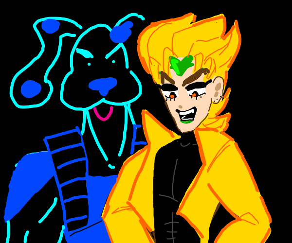 Dio(?) and Blue (bluesclues) are unstoppable