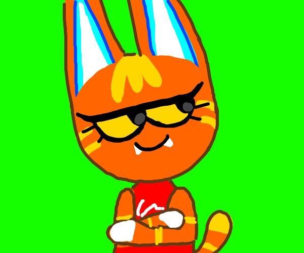 katt from animal crossing
