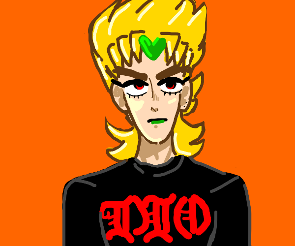 Dio in casual clothing