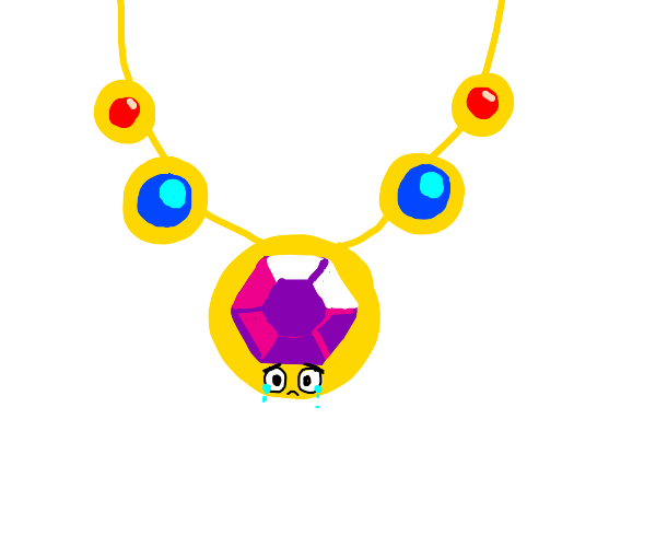 Sad necklace