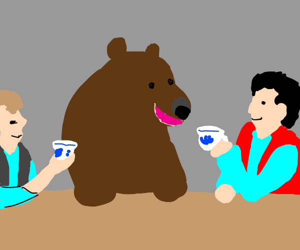 bear and parents