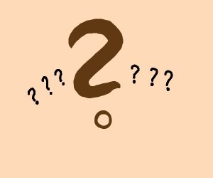 the question mark. really, it's him.