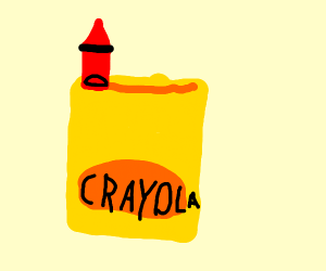 Crayons but only the red is left