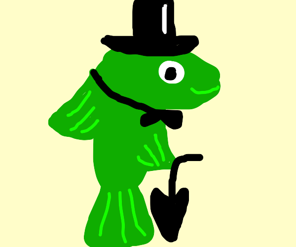 green fish gentlemen