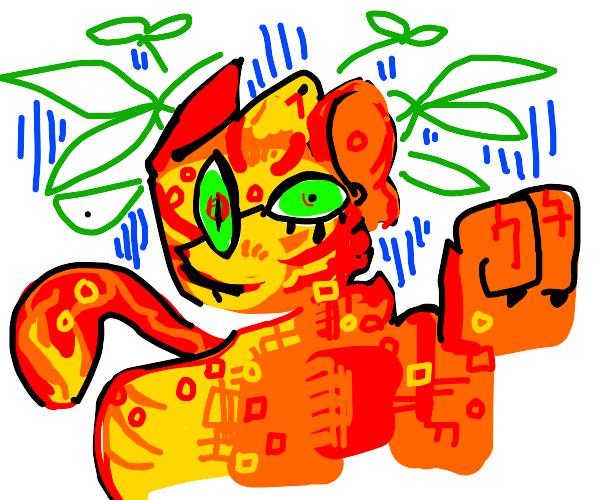 abstract fox boye