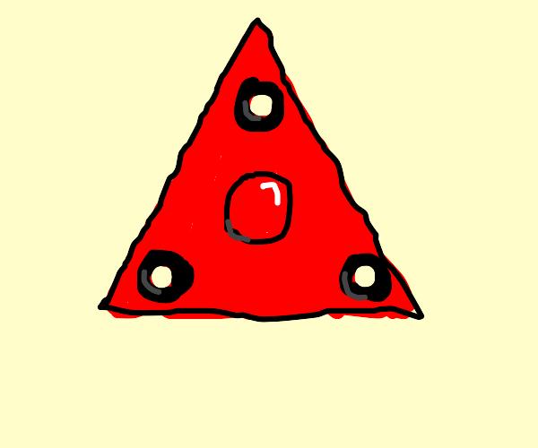 fidget toy triangle