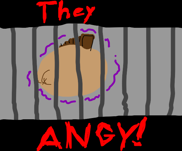 angy orb in jail