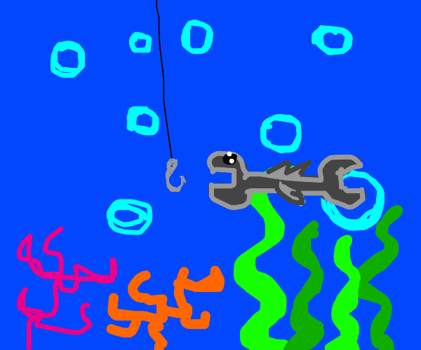 Fishing for a wrench