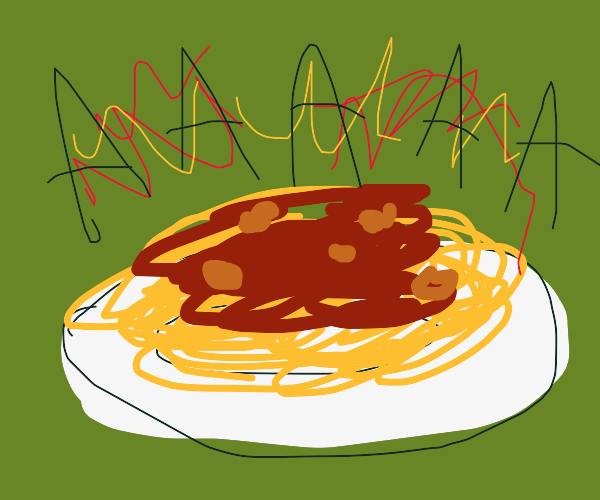 Loud spaghetti