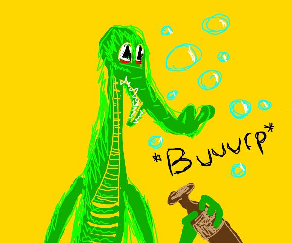drunk crocodile