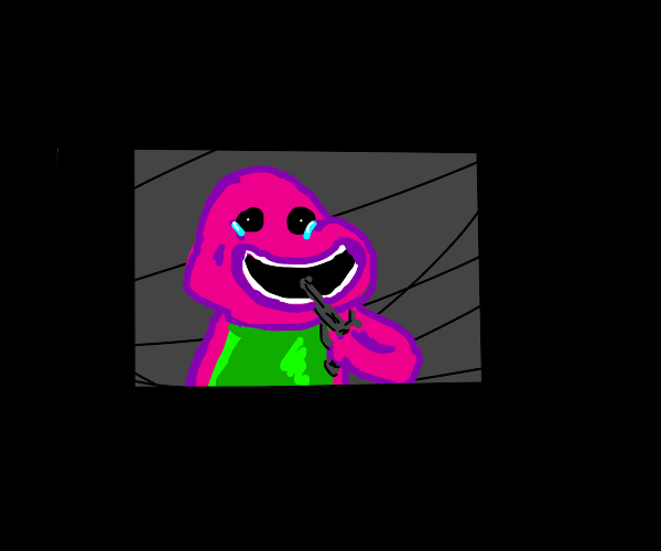 Barney shoots himself