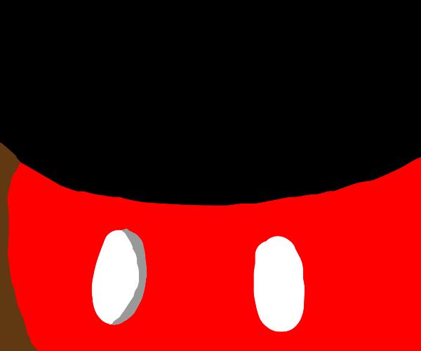 Mickey Mouse torso