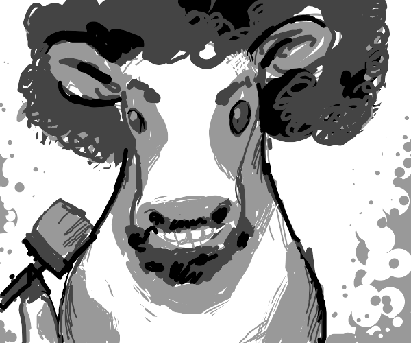 Bob Ross is a cow