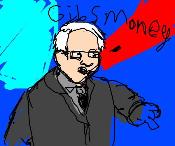 Bernie needs your money