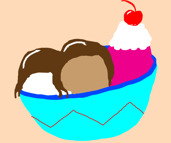 bowl of icecream