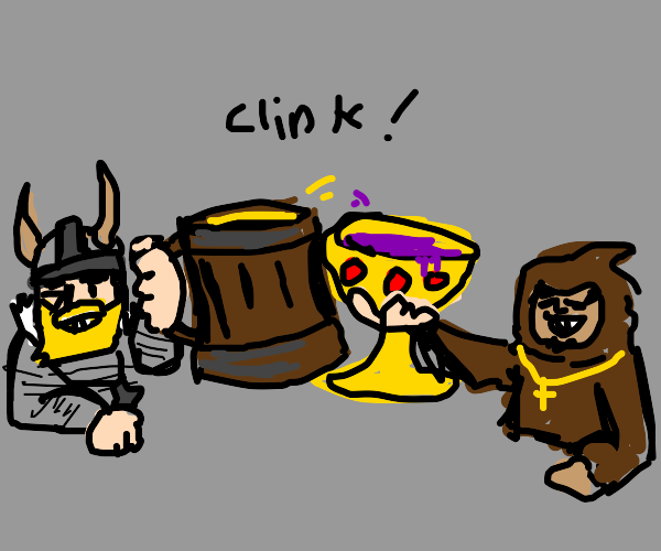 Thor and a Priest? go to a tavern