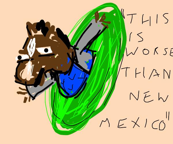 bojack horseman gets stuck in a portal