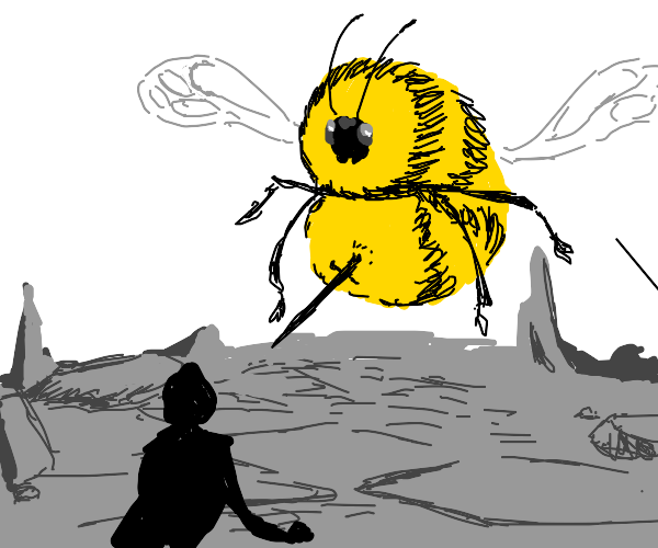 The ultimate Bee boss fight!!