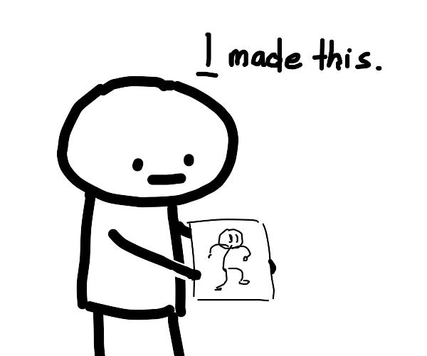 I drew Henry Stickmin
