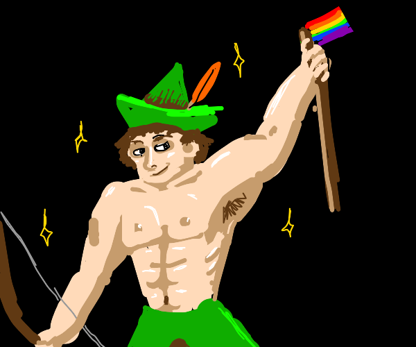 Robin Hood is gay