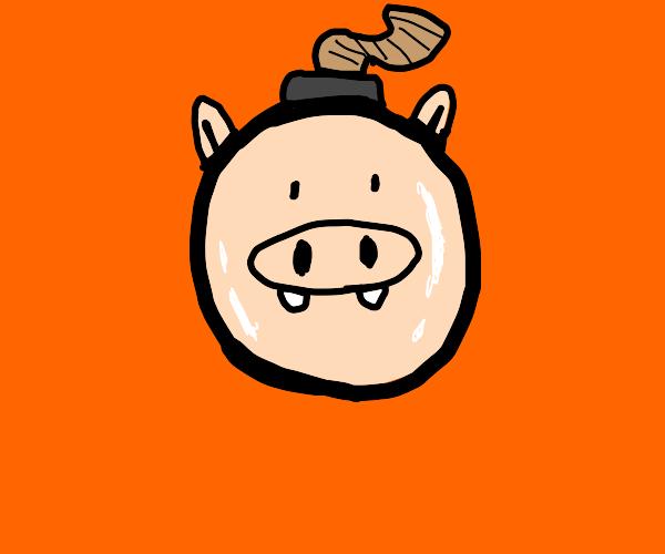 Pig bomb