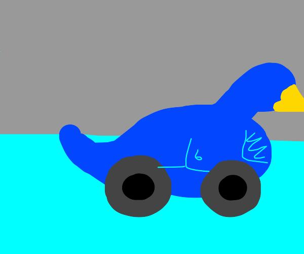 blue duck, but its a car