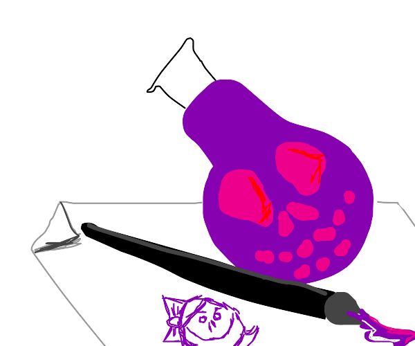 drawing with poison