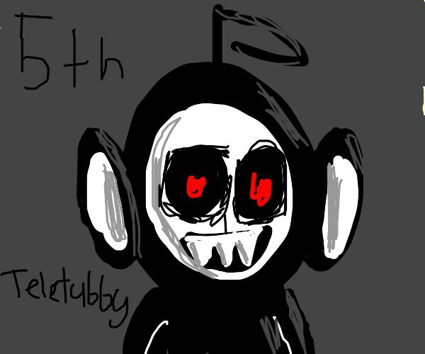 The 5th, secret teletubby.