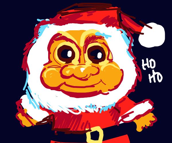 Santa Troll Doll
