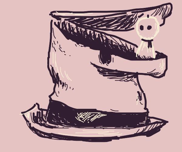 TF2 Ghastly Gibus hat