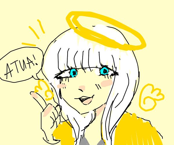 Angie yonaga is an angel