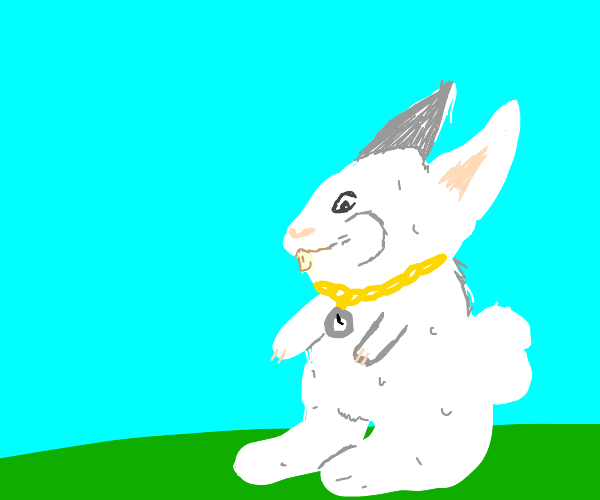 The White Rabbit is just in time