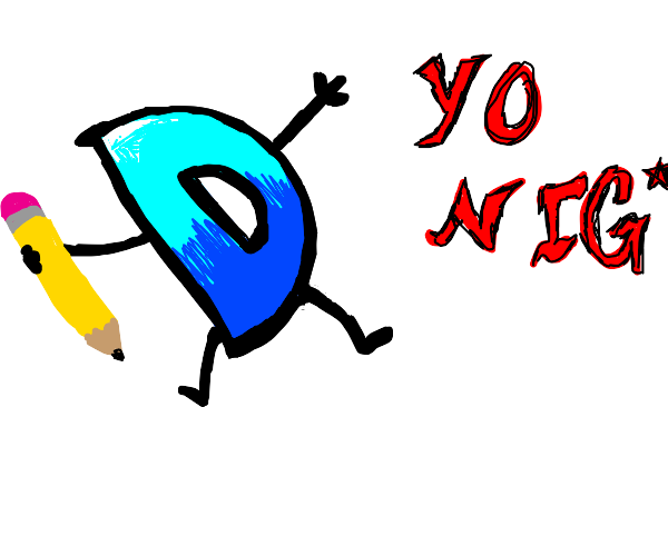 drawception D is about to say the n-word