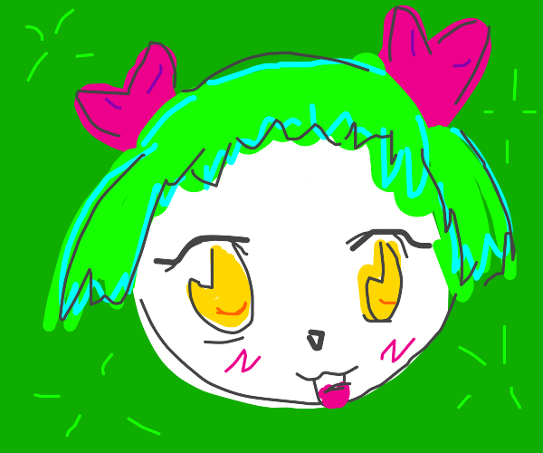 Joker is a kawaii 5-year-old girl