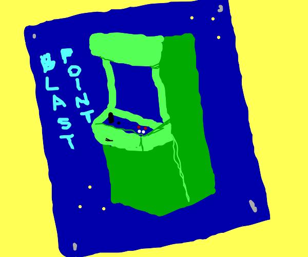 Poster of an arcade machine