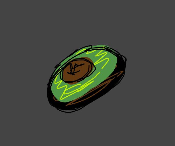 Oblong avocado