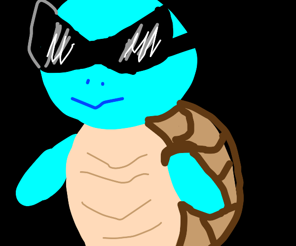 cool version of squirtle